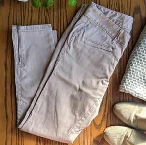 LOFT Pink Modern Skinny Ankle Jeans Petite